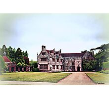 Athelhampton- The Haunted House Photographic Print