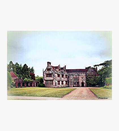 Athelhampton- The Haunted House Photographic Print