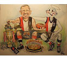 A 50th Birthday commission Cartoon Photographic Print