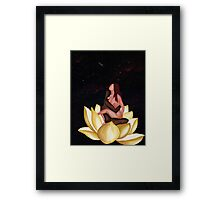 Lotus in Rapture Framed Print