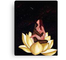 Lotus in Rapture Canvas Print