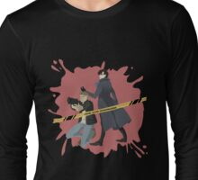 Crime scene investigation round 2 Long Sleeve T-Shirt