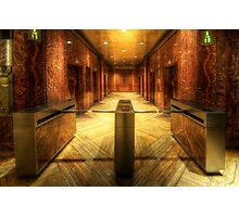 Chrysler Building Elevator Lobby Photographic Print