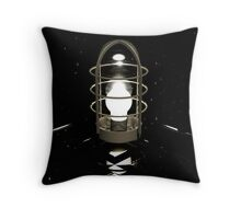Don't believe your eyes - this is NOT a lamp! (( It's all about self-delusion... )) Throw Pillow