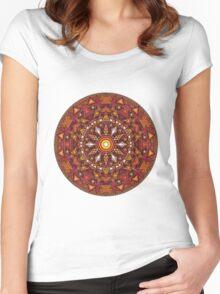 Mandala 44 T-Shirts & Hoodies Women's Fitted Scoop T-Shirt