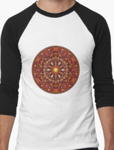 Mandala 44 T-Shirts & Hoodies Men's Baseball ¾ T-Shirt