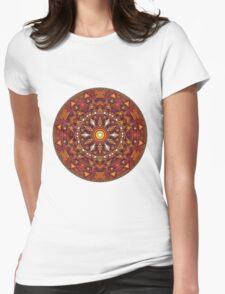 Mandala 44 T-Shirts & Hoodies Womens Fitted T-Shirt