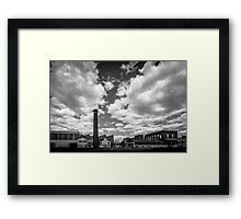 The Old Factory in Castlemaine Framed Print