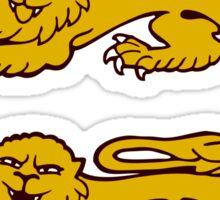 normandie lion normand drunk beer Sticker