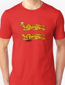 normandie lion normand drunk beer T-Shirt