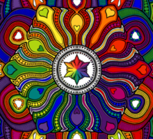 Mandala 42 T-Shirts & Hoodies Sticker