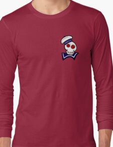 STAY PUFT SKULL Long Sleeve T-Shirt