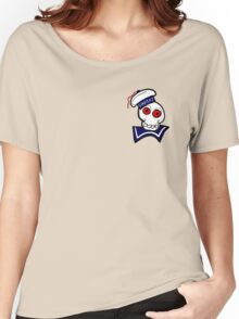 STAY PUFT SKULL Women's Relaxed Fit T-Shirt