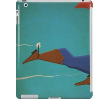 superman in the wild west iPad Case/Skin