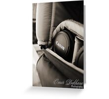 Canon Lens Greeting Card