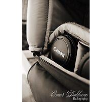 Canon Lens Photographic Print