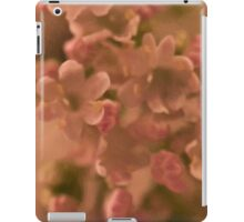 Valarian Blossoms Macro - Digital Oil Painting iPad Case/Skin