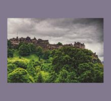 Gathering Storm over Edinburgh Castle Kids Tee