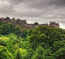 Gathering Storm over Edinburgh Castle by Tom Gomez