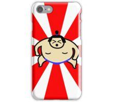 Animated Sumo Wrestler iPhone Case/Skin