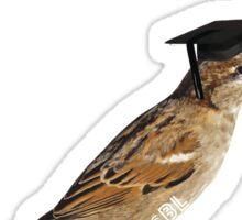 Philadelphia School of Bird Law Sticker