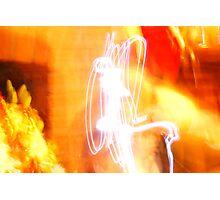 Flaming Abstract I Photographic Print