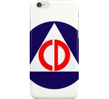 Civil Defence iPhone Case/Skin