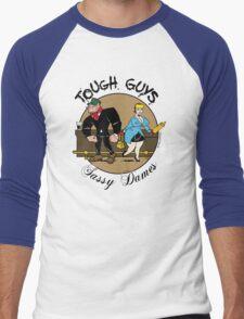 Tough Guys & Sassy Dames: Bruiser and Flo Men's Baseball ¾ T-Shirt