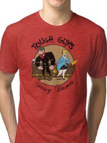 Tough Guys & Sassy Dames: Bruiser and Flo Tri-blend T-Shirt