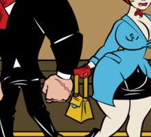 Tough Guys & Sassy Dames: Bruiser and Flo Sticker