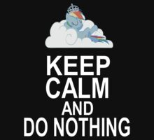 Keep calm and do nothing by anth96