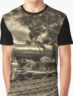 GWR Bradley Manor - Sepia Graphic T-Shirt