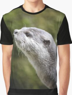 Asian Otter Graphic T-Shirt