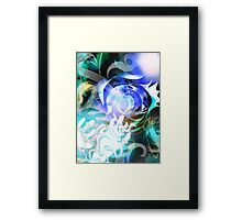 Iro-Ne(sound of color)01 Framed Print