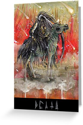 4 horsemen - DEATH by ATLANTISVAMPIR-