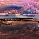 Amble Sunset by Elaine123
