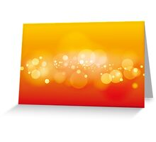 Lights, vector background Greeting Card