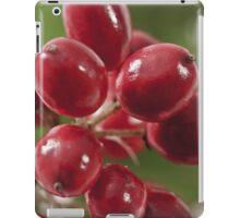 Wild Berry Cluster Macro iPad Case/Skin
