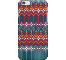 russian carpet blue iPhone Case/Skin