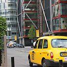 Yellow cab by Aaron  Wahab