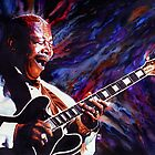 B B King by kenmeyerjr