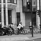 Traffic light bikes  by Aaron  Wahab