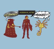 Exterminate, Assimilate, Inseminate! T-Shirt