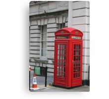 Phone box Canvas Print