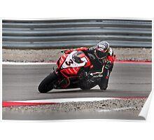 MAX BIAGGI at Miller Motorsports park 2012 Poster