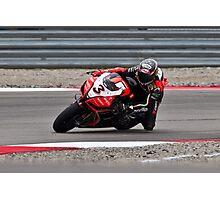 MAX BIAGGI at Miller Motorsports park 2012 Photographic Print