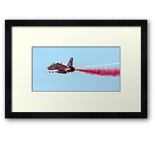 Red Arrows Hawk 2015 Framed Print