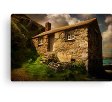 Cove House Canvas Print