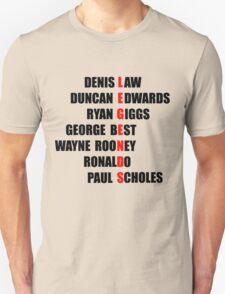 Manchester United Legends T-Shirt