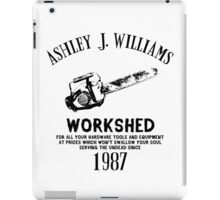 Ash vs Evil Dead - Ash's Chainsaw iPad Case/Skin